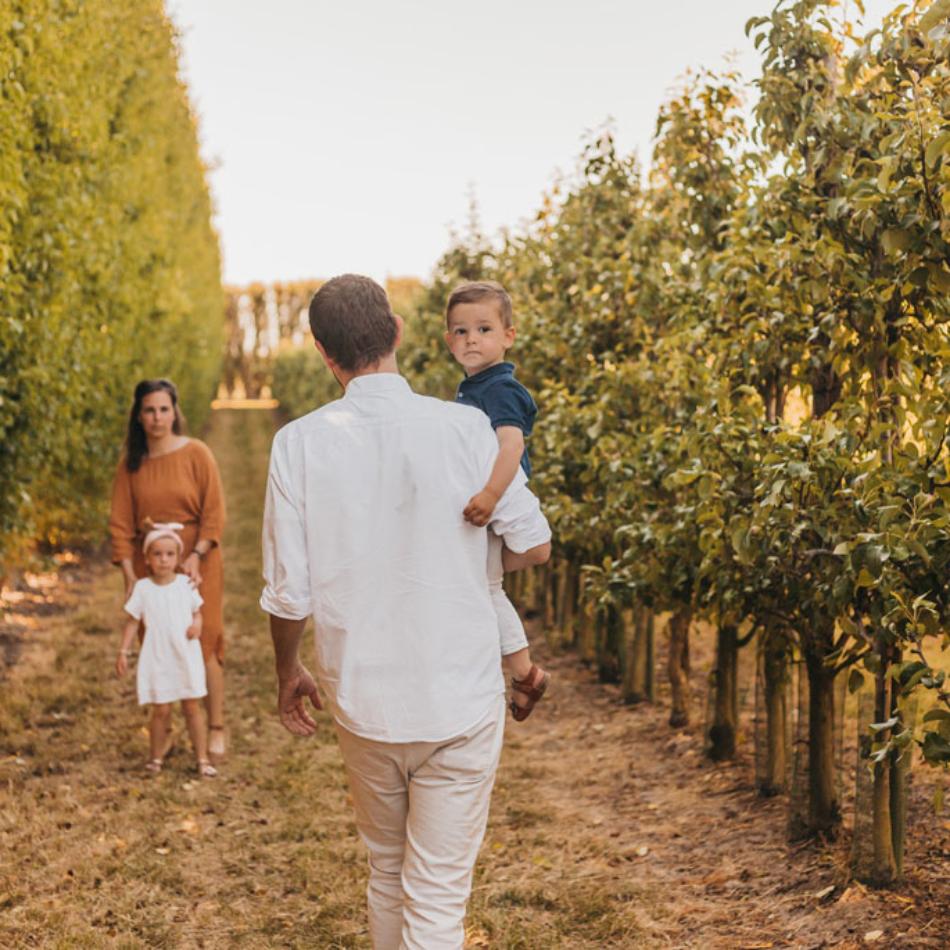 Fotoshoot met gezin Zeeland