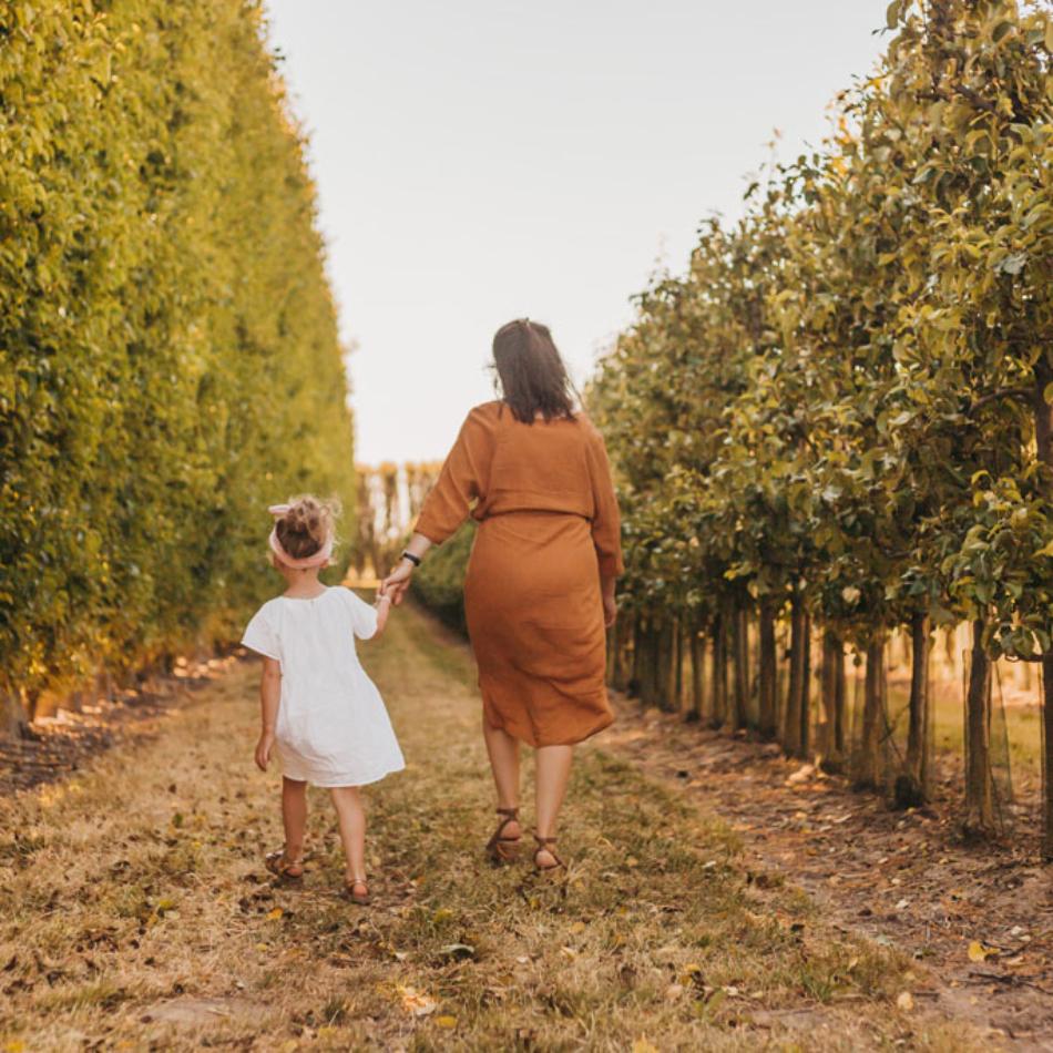 Fotoshoot moeder en dochter zeeland