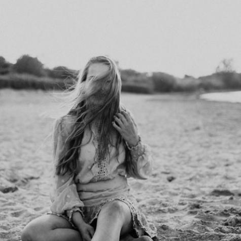 Portretshoot zwartwit zeeland