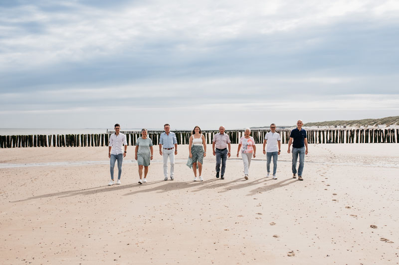Fotoshoot met familie Oostkapelle