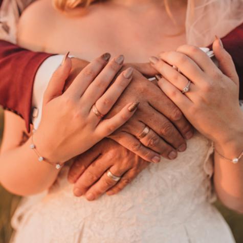 detailfoto zeeland bruiloft