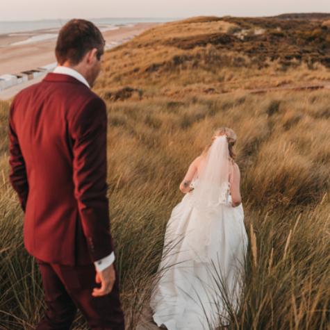trouwen duinen zeeland fotograaf