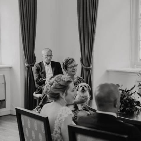 moeder bruiloft