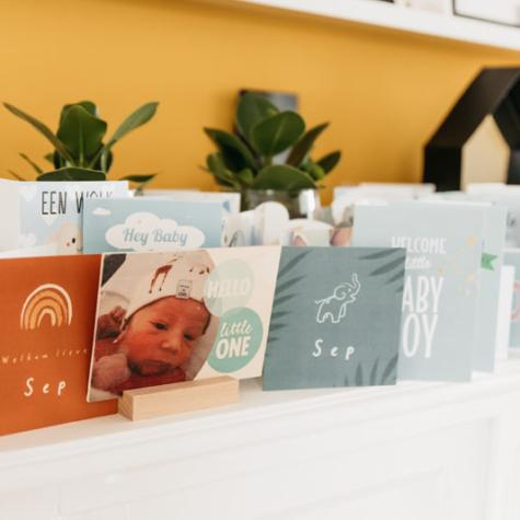 kaarten cadeau baby