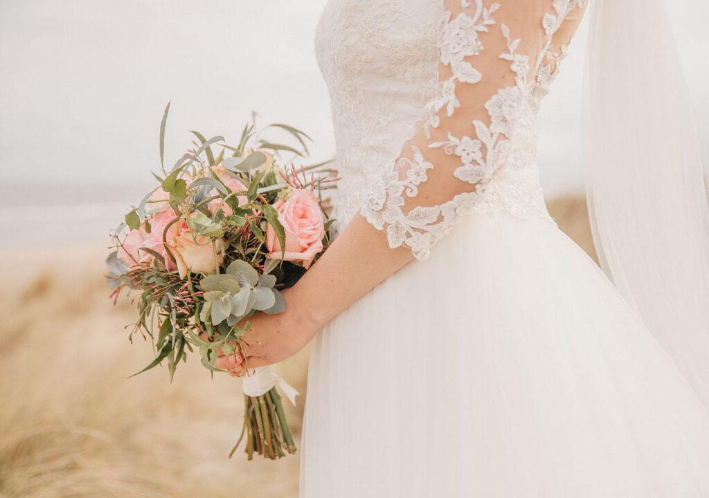 detailfoto bruiloft zeeland